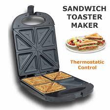1200w 220v elektrische sandwich maker 4 scheibe dual toast grill nicht stick jaffle presse waffeleisen kuchen ofen frühstück maschine