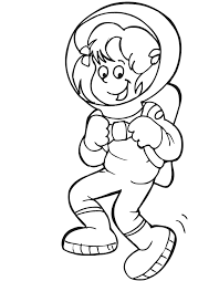 Astronaut Coloring Pages 45