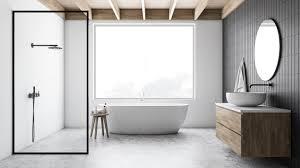 moderne badgestaltung in schwarz weiß www immobilien