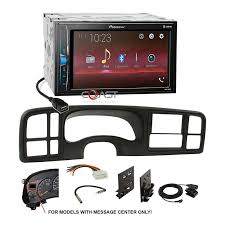100 Pioneer Trucks Details About USB Bluetooth Multimedia Stereo Dash Kit Harness For 99 GM SUVs