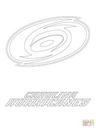 Click The Carolina Hurricanes Logo Coloring Pages