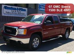 2007 GMC Sierra 1500 SLE Extended Cab 4x4 In Sport Dark Red Metallic ... 062013 Chevrolet Tahoegmc Yukon Preowned 2007 Gmc Sierra 1500 Single Cab Afrosycom Umopapisdn Gmc Crew Cabsle Pickup 4d 5 34 Ft Specs No End In Sight For Deluxe Pickup Truck Prices Slt Extended Onyx Black 1600 Jax Denali 4wd Summit White 680266 2019 Reinvents The Bed Video Roadshow Eg Classics 072013 Grille Style Z 1gtecx17z131406 White New Sierra On Sale Ca San