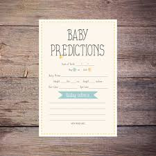 Printable Cute As A Button Baby Prediction By LarissaKayDesigns