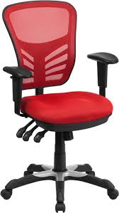 Mid-Back Red Mesh Multifunction Executive Swivel Ergonomic Office Chair  With Adjustable Arms Mooreco Ergo Ex Ergonomic Office Chair Black Seat 5star Base 21 Width X 1850 Depth 28 24 51 Height Details About High Back Executive Computer Desk Swivel Armrest Leather With Plush Headrest Extensive Padding And Arms Allsteel Relate Ergonomic Chairs Fniture I Ergoprise Houston Texas 8779078688 Seating Tx Spigner Push Task Standing Desks Austin Ergonomic Home Tbc Control Room Desk Ehst3ebl Sit Stand Recling Adjustable Chiars Steelcase Leap V2