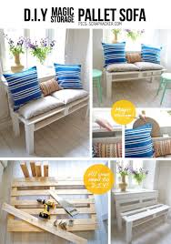 50 DIY Pallet Furniture Ideas DIY Joy