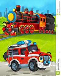 Cartoon Train Scene On The Meadow With Off Road Fireman Truck Stock ... Aliexpresscom Buy Original Box Playmobile Juguetes Fireman Sam Full Length Of Drking Coffee While Sitting In Truck Fire And Vector Art Getty Images Free Red Toy Fire Truck Engine Education Vintage Man Crazy City Rescue Games For Kids Nyfd With Department New York Stock Photo In Hazmat Suite Getting Wisconsin Femagov Paris Brigade Wikipedia 799 Gbp Firebrigade Diecast Die Cast Car Set Engine Vienna Austria Circa June 2014 Feuerwehr Meaning Cartoon Happy Funny Illustration Children