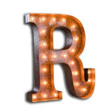 Letter Light D The Vintage Industrial