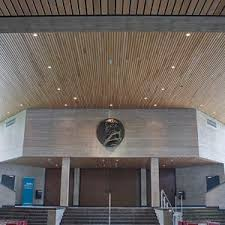 Rulon Wood Grille Ceiling by Acoustic Suspended Ceiling All Architecture And Design