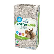 crittercare light brown natural for small animals bedding 14 l