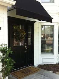 Black Door, Black Awning And White Siding Are A Classic ... Best Front Door Awnings Overhang Ideas On Pinterest Porch Awning Kreiders Canvas Service Inc Deck Patio A Hoffman Residential Greenville Sc Co Wooden Home Custom Wood Window 88 Pvc Full Size Of Awningmade Diy Retractable Jbeedesigns Outdoor Twelve Fascating Bedroom Marvelous Alinum Product With White Using For Your House Wearefound Design Pasdecksfencescstruction Services Pictures Porches In Oxnard Amazing Backyard Shade Sun