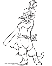 Colouring Pageorg Sites Default Files Puss In Boots Coloring Page 04