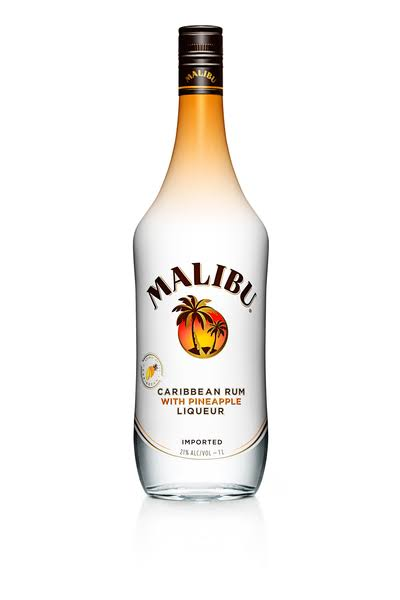 Malibu Rum - Pineapple, 750ml