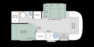 Itasca Class C Rv Floor Plans by Gemini Ruv Class C Motorhomes Floor Plans Thor Motor Coach