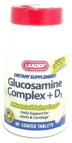 Leader Glucosamine Complex + D3 - x60