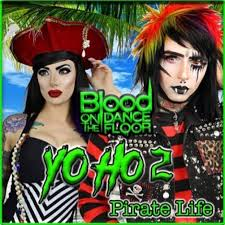 blood on the dance floor releases new song yo ho 2 pirate life