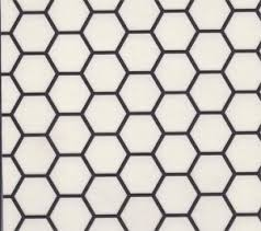 Sheet Vinyl That Looks Like Hexagonal Tile From Linoleum City