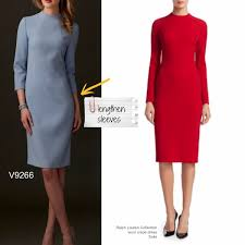 Sew The Looktm Vogue Patterns V9266 Dress Pattern