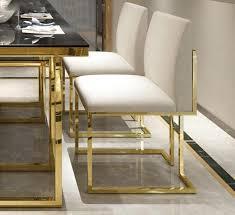 hemma velvet stuhl mit goldenen beinen