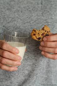cookies mit cranberries und schokolade