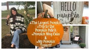 Pumpkin Patch Orlando Fl by Karen U0027s Vlog The 1521lb Pumpkin Trip To The Pumpkin Patch