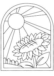 Coloriage Fleur De Tournesol à Imprimer Pour Les Enfants Dessin