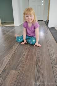 Trafficmaster Glueless Laminate Flooring Lakeshore Pecan by Null Natural Hickory 7 Mm Thick X 8 06 In Wide X 47 5 8 In