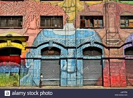 Famous Street Mural Artists by Mural By Famous Street Artist Blu At Via Del Porto Fluviale Stock