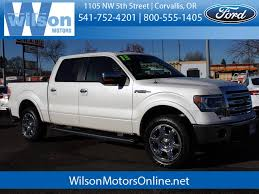 100 Short Bed Truck Used 2013 Ford F150 In Corvallis OR VIN1FTFW1EFXDFB22752