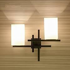 appliques chambre b style européen simple retro créatif à tête led applique