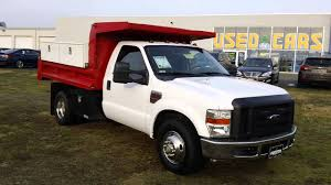Used Commercial Dump Truck For Sale Maryland 2010 Ford F350 Diesel ...