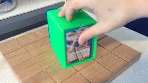 magic edh deck box 3d printed edh deck box