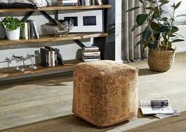 hocker grants pouf sitzhocker sitzgelegenheit muster