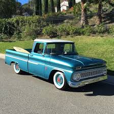 100 1963 Chevy Truck Chevrolet C10 Custom Cab Automatic Short Bed MALIBU