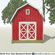 12x16 Gambrel Shed Kits by 12x16 Gambrel Shed Plans Small Barn Shed