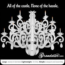 Introduction Large Silhouette Chandelier Decoration The Grandelier
