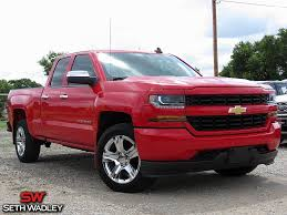 Used 2016 Chevy Silverado 1500 Custom 4X4 Truck For Sale Perry OK ...