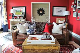 Colors For A Dark Living Room by Design Thoughts Why Not A Bold Wall Color Our Fifth House