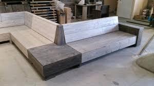fabriquer canapé d angle en palette fabriquer un canape d angle canapac en palette banc de jardin diy
