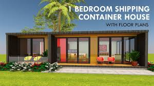 100 Free Shipping Container Home Plans Modular 1 Bedroom Prefab Design With Floor MODBOX 640 COMPACT