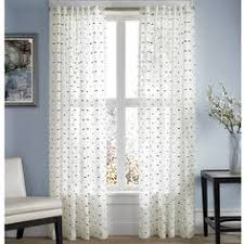 Bed Bath And Beyond Semi Sheer Curtains by Zigami Rod Pocket Back Tab Window Curtain Panel Rod Pocket