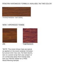 hardwood formula wood stain penofin