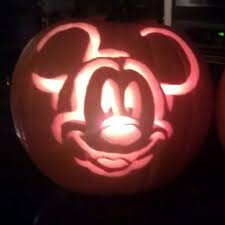 Mickey Mouse Vampire Pumpkin Stencil by Pineapple Pearing