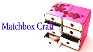 Hand Made Matchbox Craft Best From Waste Material Creativity Art Easy Step To Follow