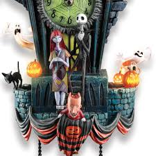 Nightmare Before Christmas Bathroom Decor by The Nightmare Before Christmas Cuckoo Clock Hammacher Schlemmer