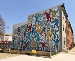mural arts restores iconic south philly keith haring mural