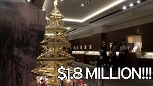 Christmas Tree 7ft Sale by Christmas Tree Made Out Of Solid Gold Worth 1 45million Is