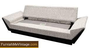 mid century modern castro convertible sleeper sofa