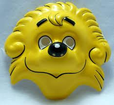 Berenstain Bears Halloween by Berenstain Bears Brother Bear Vintage Halloween Mask 1993 Rubies