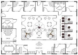 fice floor plan