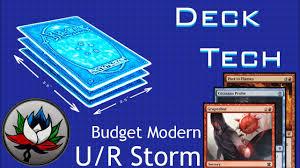 deck tech u r storm budget modern mtg youtube